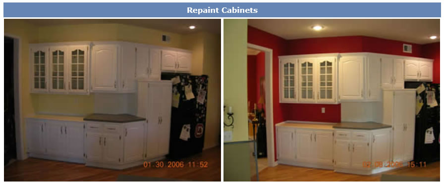 repaint-cabinets